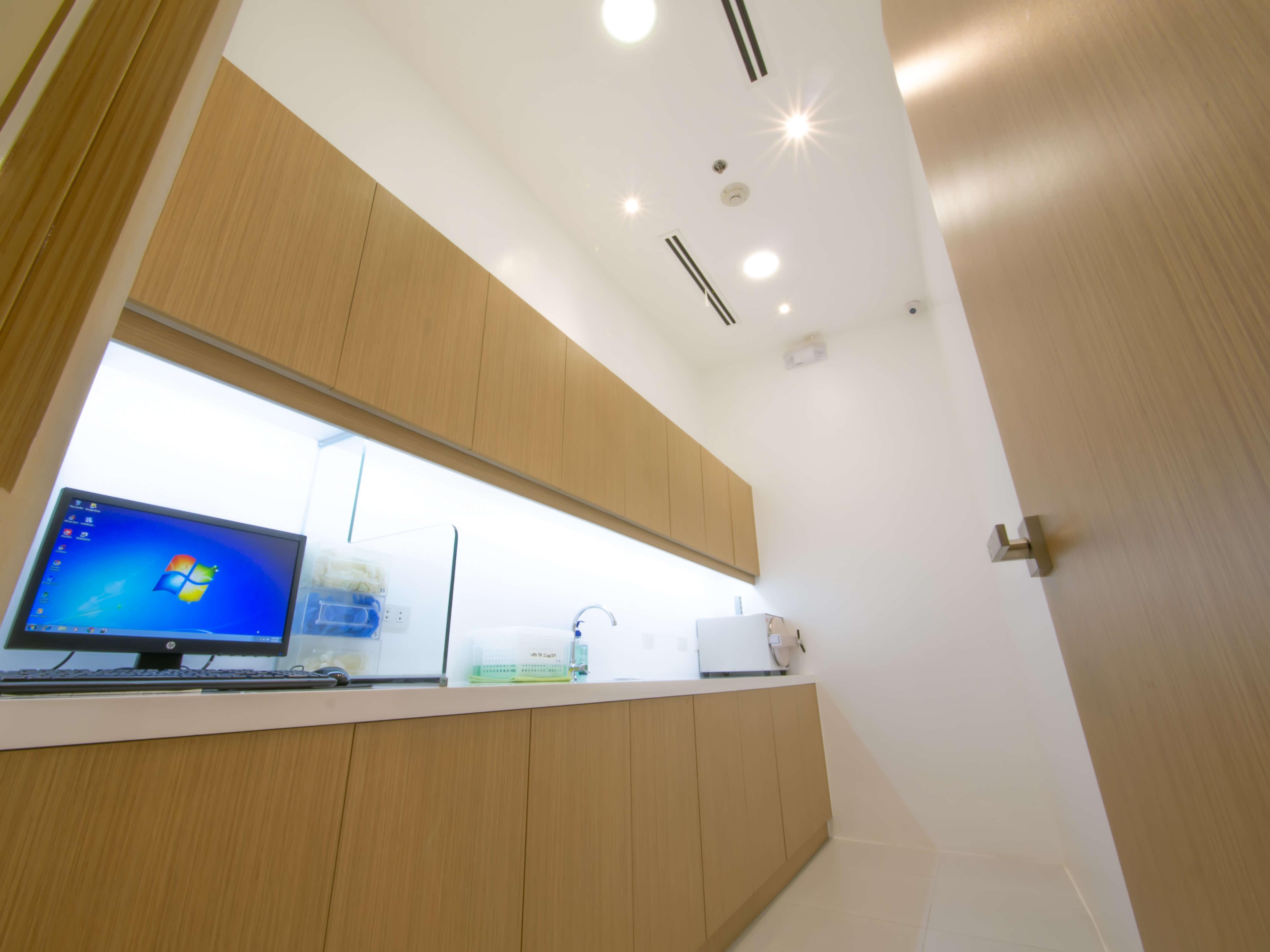 novodental                                                                      sterilization room
